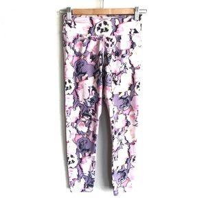PRANA Floral Crop Leggings Size XS